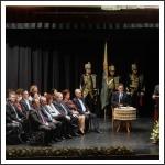Ünnepi Közgyűlésen a kitüntetettek és a Somogy Megyei Közgyűlés elnöke: Biró Norbert