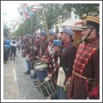 Negyvenhetesek az Egerszeg Fesztiválon (fotó: Budai 2-ik Honvédzászlóalj)