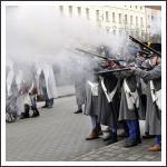 Harc a városközpontban (fotó: Galambos Sándor)