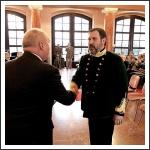 Horváth György miniszteri kitüntetést vesz át a Szövetség 20 éves évfordulóján