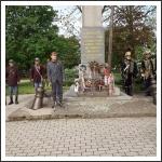 Nagysallói Obeliszknél ünnepség