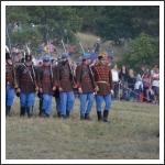 Ismét dörögtek az ágyúk a Mészeg-hegy lábánál (fotó: Berlingerné Kiss Orsolya)