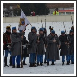 Csata a havas Tisza-parton (fotó: Horváth Zsombor)