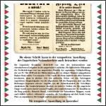Die temporäre Ausstellung des Ungarischen Nationalarchives