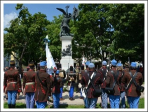 A magyar honvéd gyalogság és tüzérség ünnepe