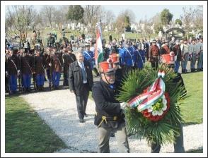 Hatvanban a település környékén lezajlott csatára emlékeztek (fotó: H. Szabó Sándor)