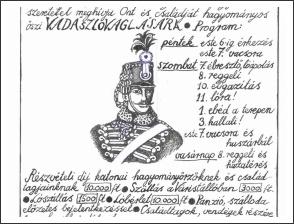 Radetzky Huszár Vadászlovaglás 2018 - meghívó