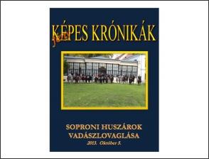 Soproni huszárok vadászlovaglása