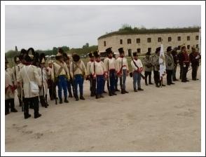 Kiképzés és hadijáték Komáromban (fotó: Tokodi Anna)