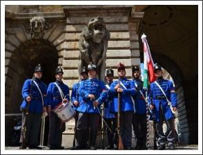 A Nemzet őrei Budavár szolgálatában (fotó: Knapecz Máté)
