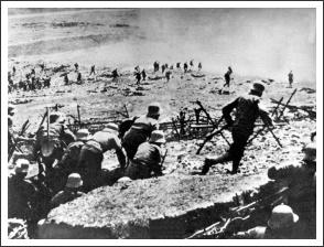 Osztrák-magyar támadás az Isonzónál 1915-ben