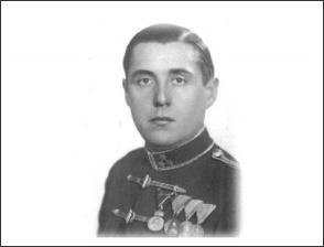 vitéz Nagy Kálmán huszár ezredes (a képen még százados)