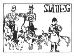 Radetzky Huszár Egyesület vadászlovaglása