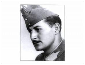 Dr. Sóldos László m.kir.huszár hadnagy