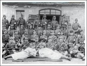 Székelyek az első világháború harcterein