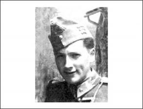 Wack Géza huszár hadnagy (forrás: szentkoronaradio.com)