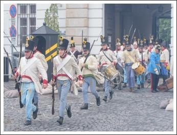A Szövetség honvédelem napi megemlékezései, Budavári ostrom csatajáték - fotó: Pető István